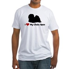 I Love My Lhasa Apso Shirt