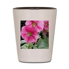 Summer Pink Flower Shot Glass