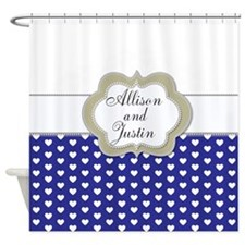 CorrectPropRoses1b15 Shower Curtain