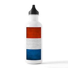 Vintage French Flag Water Bottle