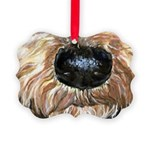 Airedale Terrier Dog Picture Ornament