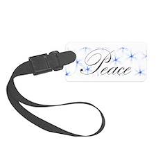 Peace Luggage Tag