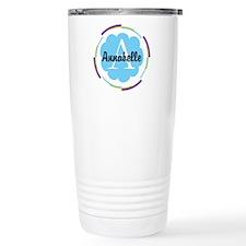 Personalized Name Monogram Gift Travel Mug