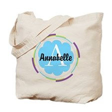 Personalized Name Monogram Gift Tote Bag