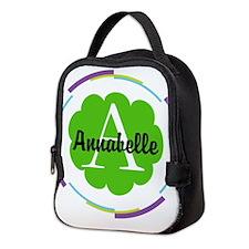 Personalized Monogram Gift Neoprene Lunch Bag