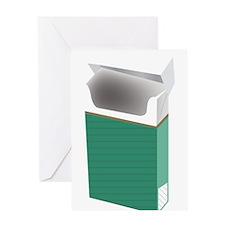 Newport smoke Greeting Cards