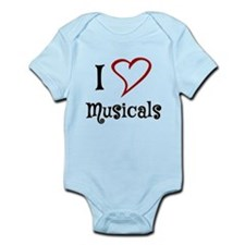I Love Musicals Body Suit