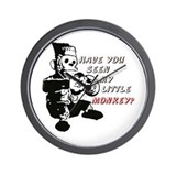 Little Monkey Wall Clock