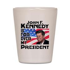 JFK Forever Shot Glass