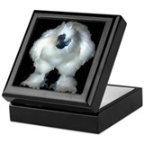 Silkie Chicken Tile Top Keepsake Box