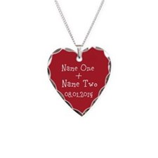 Funny Dating Necklace Heart Charm