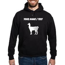 Llama Silhouette (Custom) Hoodie