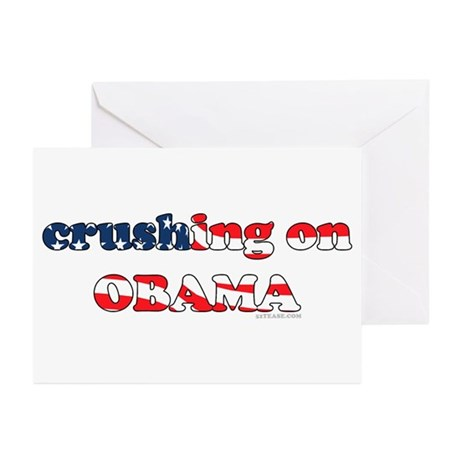 Crushing on Obama Greeting Cards (Pk of 10)