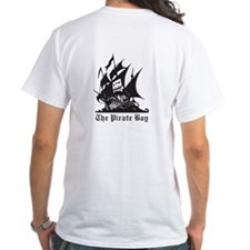 Pirate Bay T-Shirt BACK PRINT