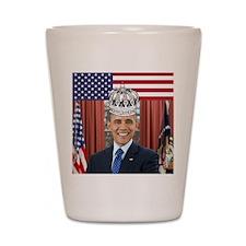 King Obama Shot Glass