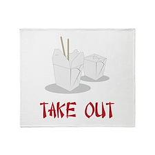 Take Out Throw Blanket