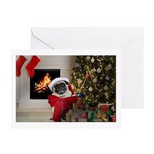 Pug Lust: Misha's Christmas Greeting Cards