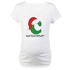 Christmas Santa Hat C Monogram Shirt