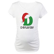 Christmas Santa Hat D Monogram Shirt
