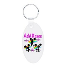 CHEERING GIRL Keychains