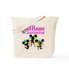 CHEERING GIRL Tote Bag