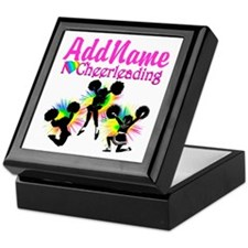CHEERING GIRL Keepsake Box