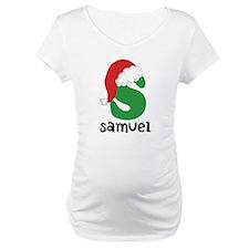 Christmas Santa Hat S Monogram Shirt