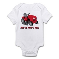 This Is How I Roll Mower Infant Bodysuit