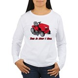 This Is How I Roll Mower T-Shirt