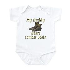 My Daddy Wears Combat Boots Onesie