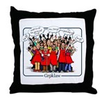 I'm pj Throw Pillow