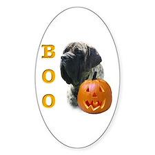 Mastiff(Brn) Boo Oval Decal