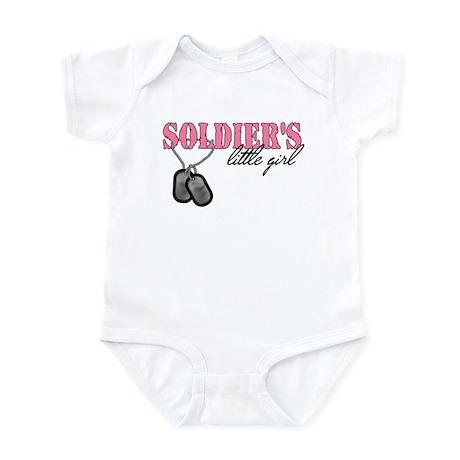 Soldier's Little Girl Infant Bodysuit