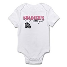 Soldier's Little Girl Infant Bodysuit