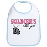 Soldier's Little Girl Bib