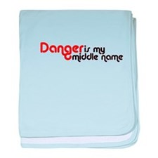 Cute Danger baby blanket