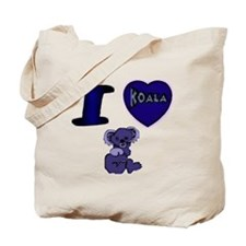 I Love ( Heart ) Koala Bears  Tote Bag