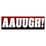 Post Election Scream Bumper Sticker