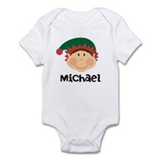 Personalized Christmas Elf Body Suit