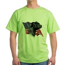 Staffy Flag T-Shirt