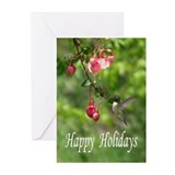 Hummingbird christmas cards Greeting Cards (20 Pack)
