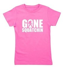 Cute Finding bigfoot Girl's Tee