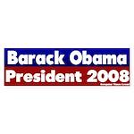 Obama for President 2008 Bumper Sticker