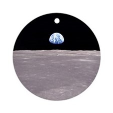 Apollo 11 Earthrise Christmas Tree Ornament
