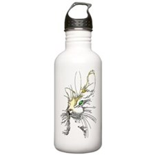 Cat two colors Water Bottle