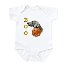 Weimaraner Boo Infant Bodysuit