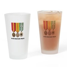 504th Military Police Drinking Glass