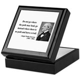 Ralph Waldo Emerson 3 Keepsake Box