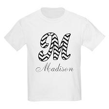 Monogram M Your Name Custom T-Shirt