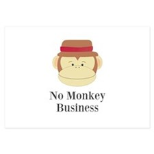 No Monkey Business Invitations